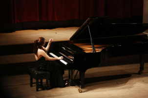 Jenna Sung at St john's Smith square